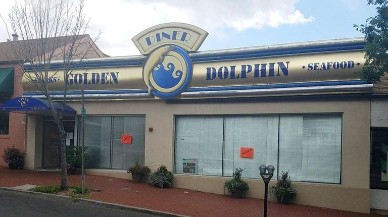 The Golden Dolphin Diner in Huntington was closed