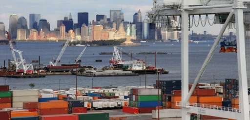 The Cape Liberty Cruise container port in Bayonne,