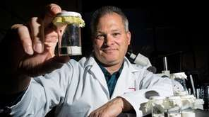 Dr. Scott Campbell, who heads Suffolk County's Arthropod-Borne