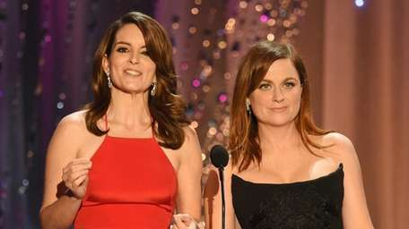 After comedic queens Tina Fey and Amy Poehler