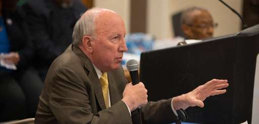 Hempstead Village Mayor Don Ryan, shown Feb. 27,