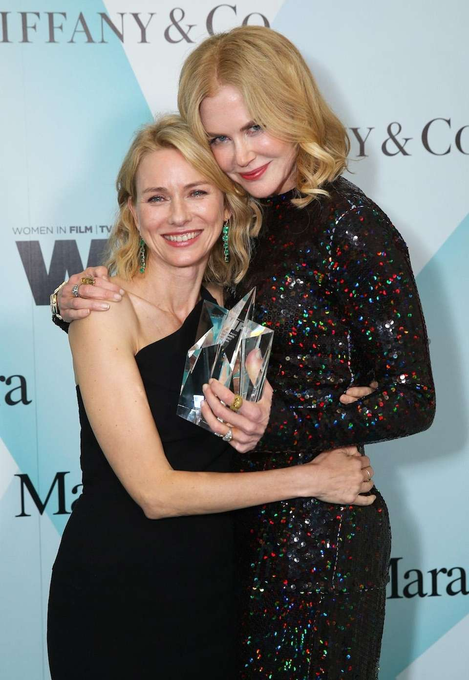 Australian actresses Naomi Watts and Nicole Kidman have
