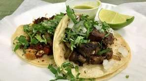 Tacos and other Mexican specialities, not pizza, are