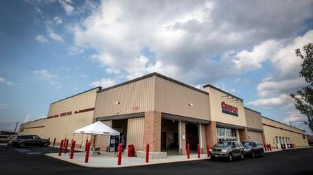 Costco's eighth Long Island store, seen here on
