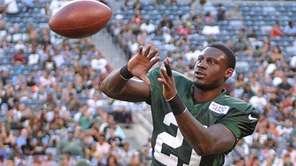 Morris Claiborne #21 of the New York Jets