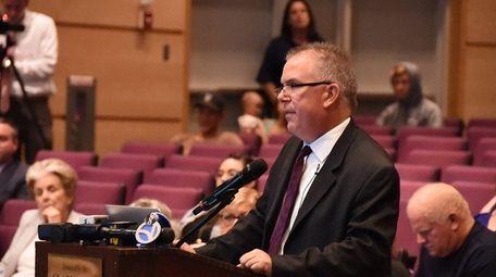 Glenn Neuschwender, president of Enviroscience Consultants of Ronkonkoma,