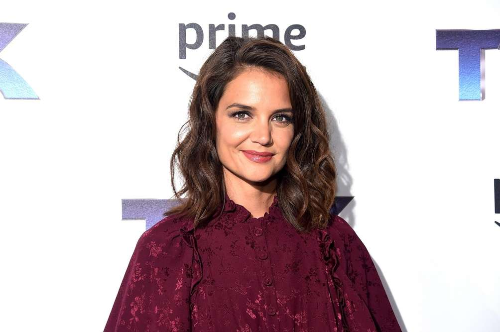 Katie Holmes attends a premiere showing of the