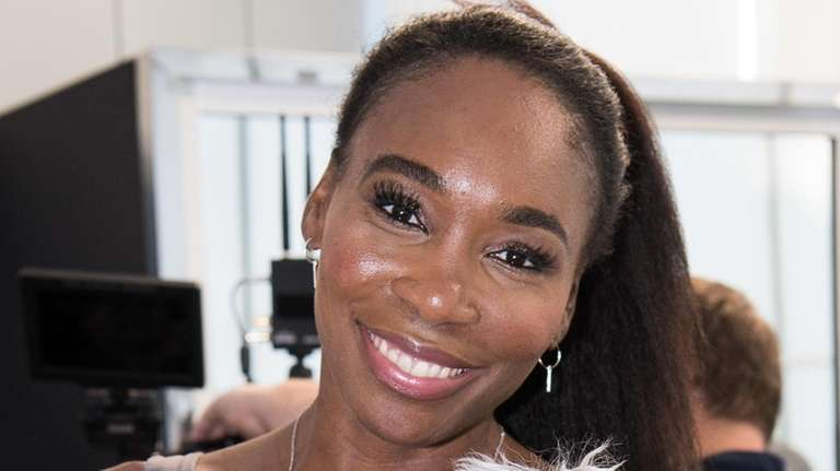 Behind the scenes with Venus Williams at the