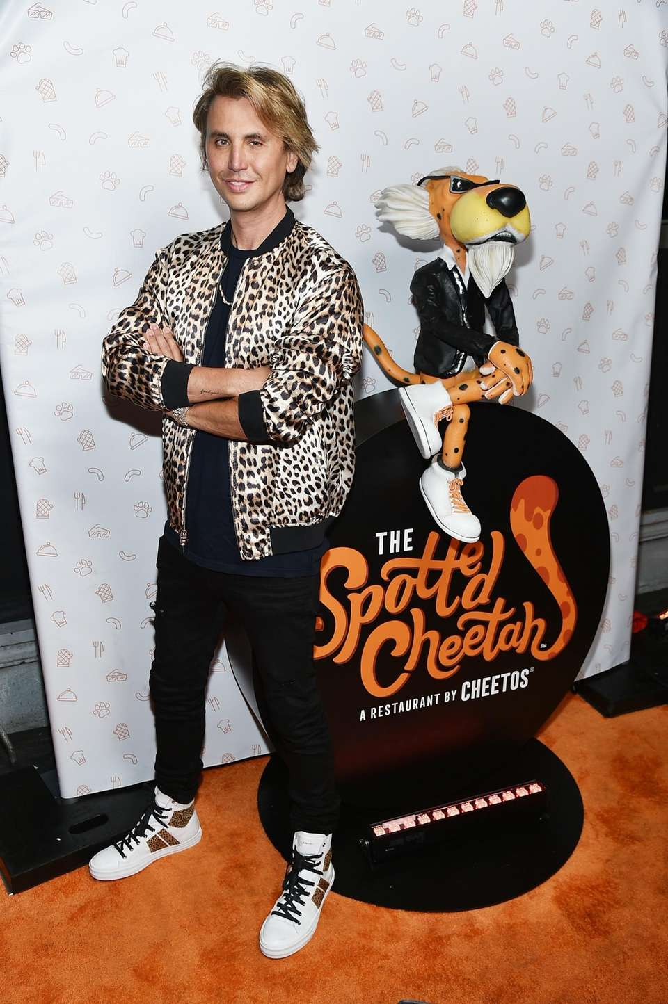 Jonathan Cheban attends the opening of The Spotted