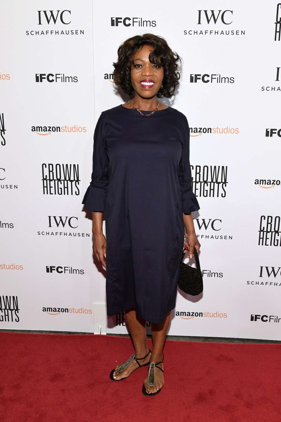 Alfre Woodard attends the New York premiere of