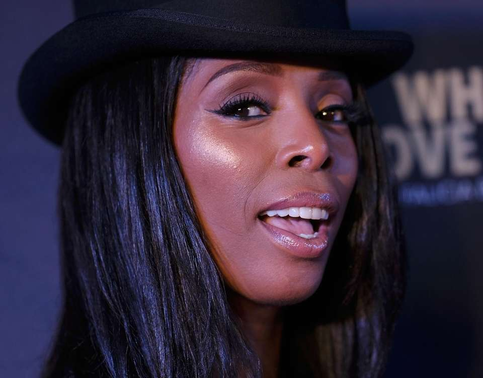 Tasha Smith attends the New York premiere of