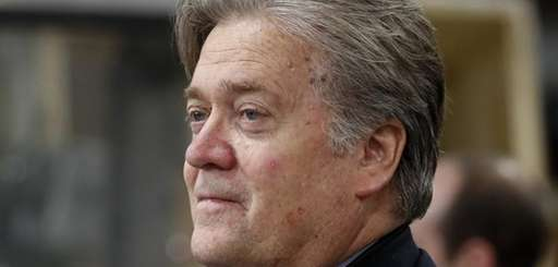 Steve Bannon, chief White House strategist to President