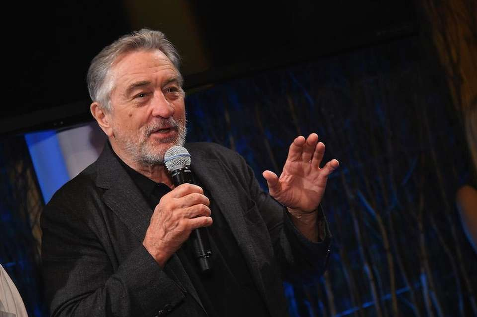 Actor Robert DeNiro Speaks Onstage During The Nobu