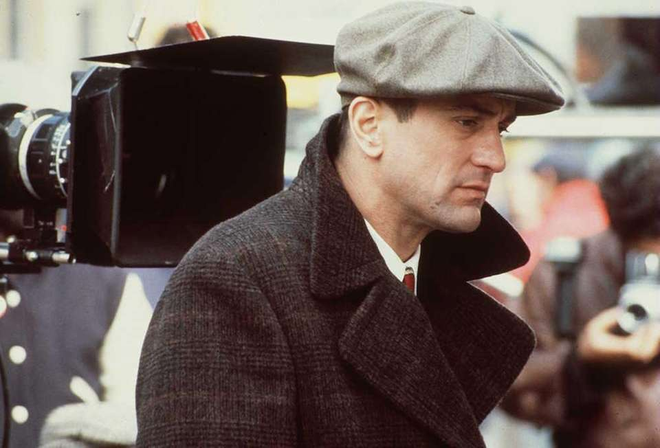 Robert De Niro on the set of