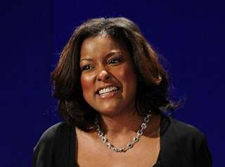 Lori Stokes, pictures here on March 8, 2010,
