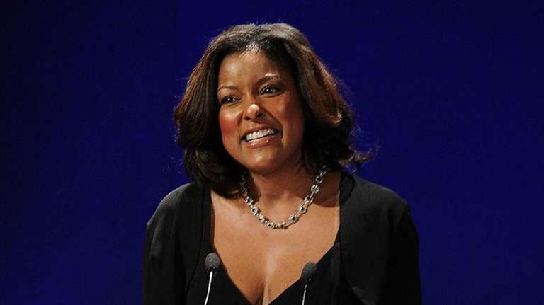 Lori Stokes, pictured here on March 8, 2010,