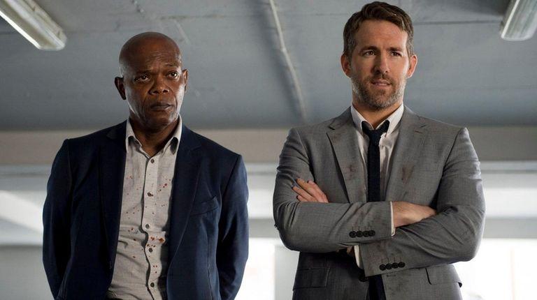 Samuel L Jackson and Ryan Reynolds star in