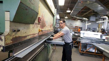 Joe Alvarez at Delta Sheet Metal Corp., which