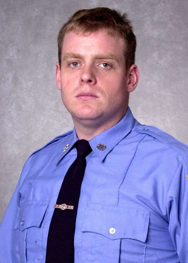 Retired FDNY firefighter Robert W. Alexander. The 43-year-old,