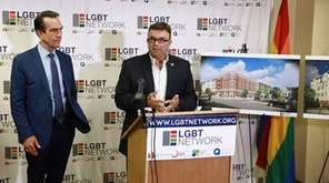 The LGBT Network held a news conference Thursday,