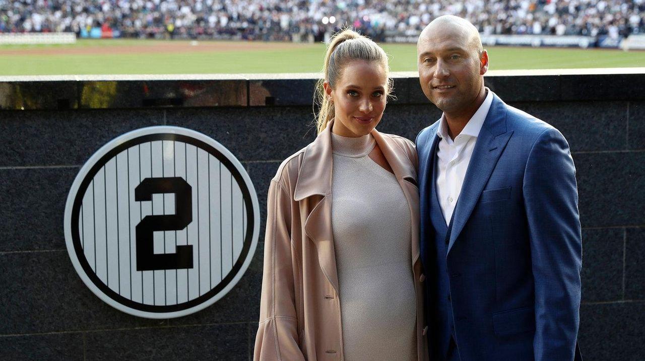 Derek Jeter Wife Hannah Welcome Baby Girl Bella Raine