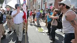 White nationalists and neo-Nazis clash with counterprotesters last