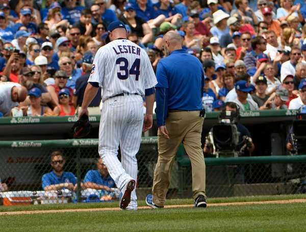 What happened between Jon Lester and Chris Bosio