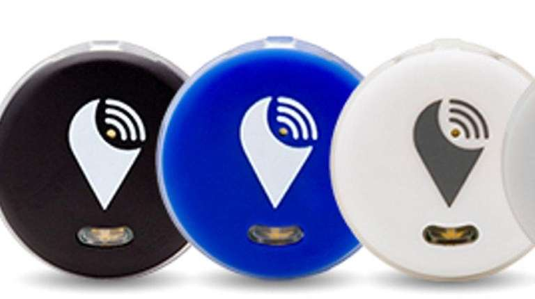 TrackR Pixel is a coin-sized Bluetooth tracking device