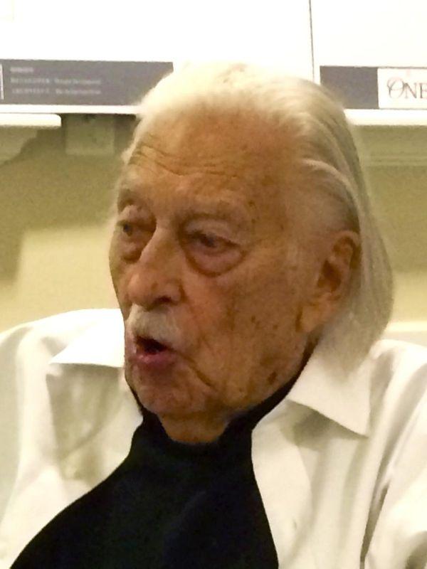Gunnar Birkerts in 2016. The internationally acclaimed modernist