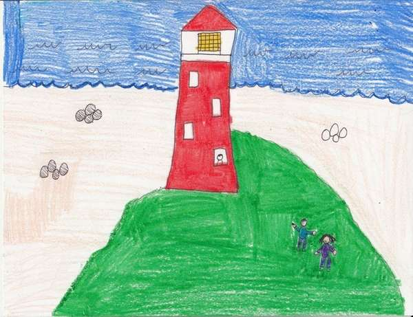 Climb to the top of the Montauk Point