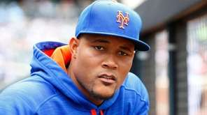 Jeurys Familia of the New York Mets looks