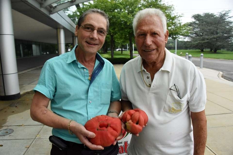 From left: Alberto Oppedisano and Joseph Ciurleo, both