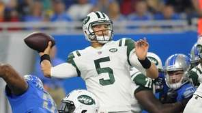 Christian Hackenberg got the start for the