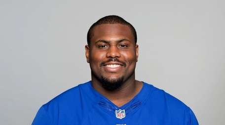 Michael Bowie of the New York Giants NFL