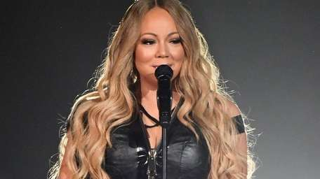 Mariah Carey performs during opening night of Lionel
