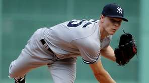 New York Yankees' Sonny Gray threw 106 pitches