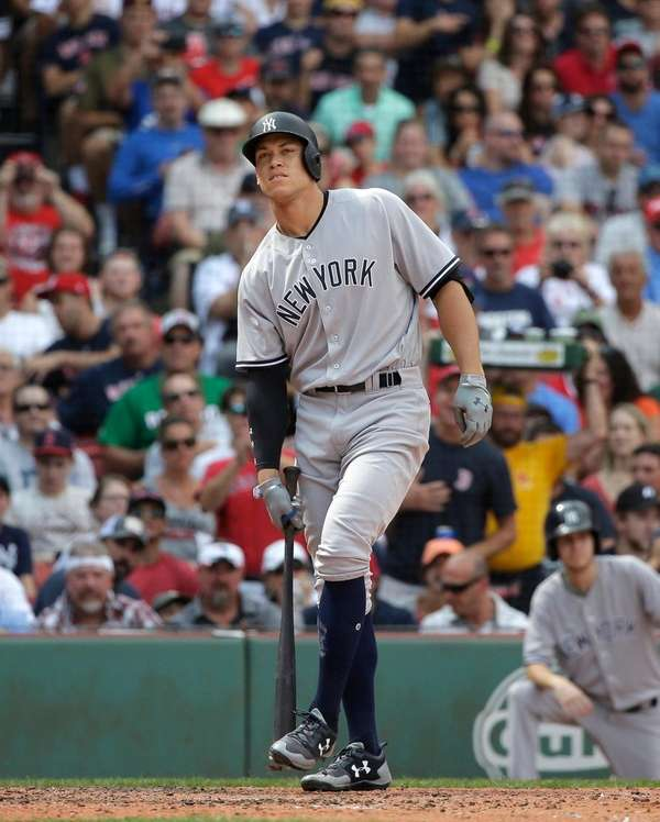 Aaron Judge struck out for the 37th straight