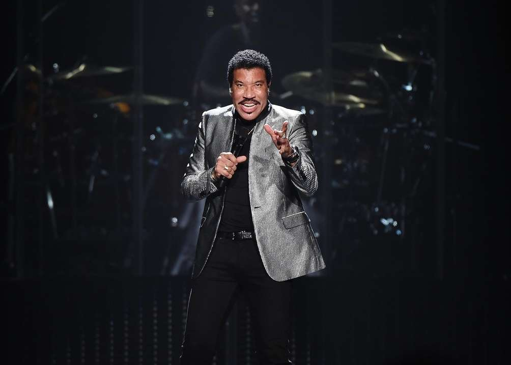 Lionel Richie performs at Madison Square Garden in