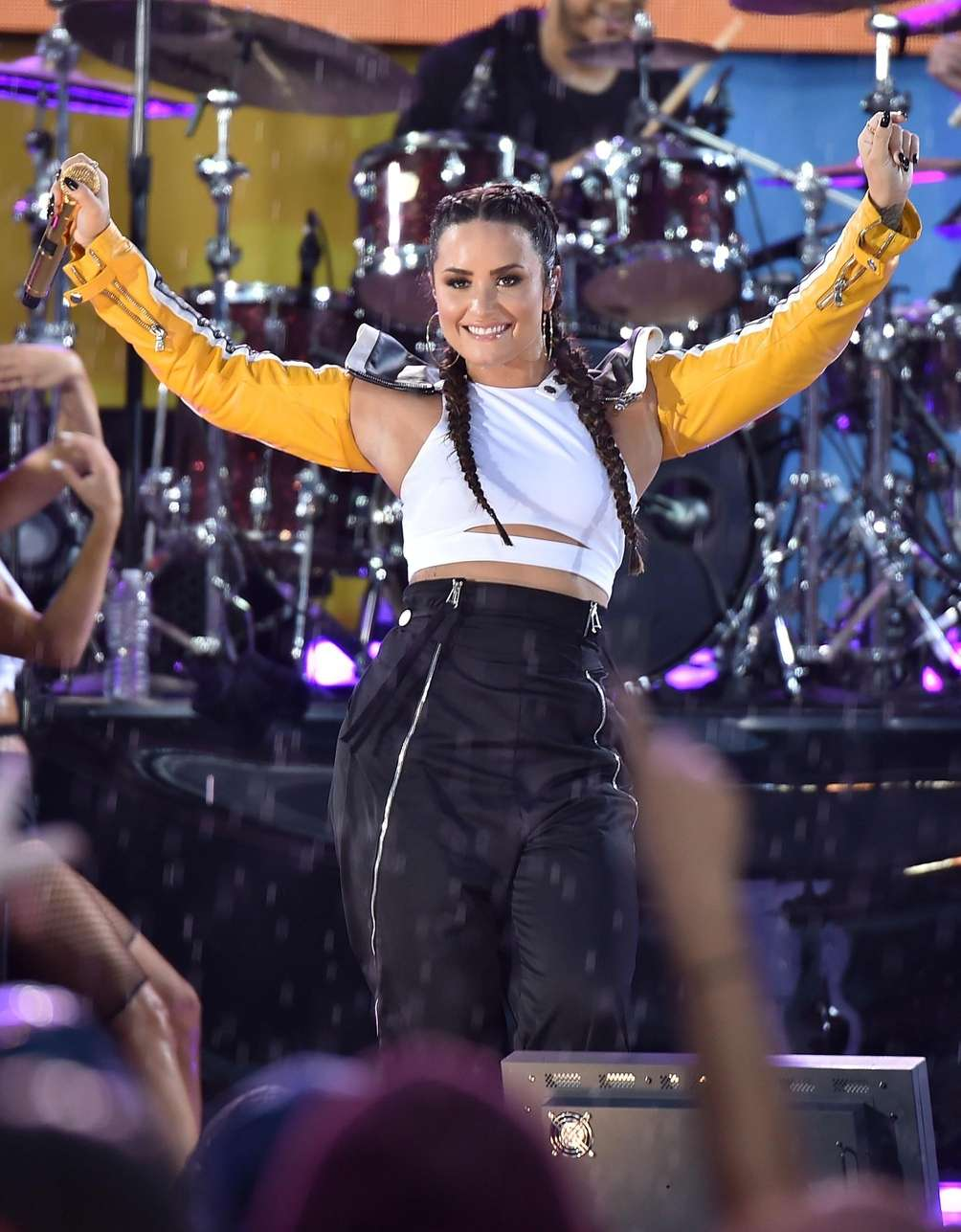 Demi Lovato performs during the ABC Network's program