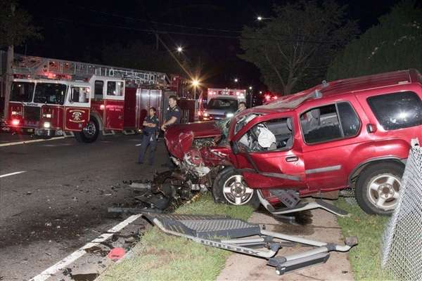 Three people were transported to area hospitals and