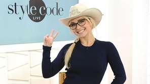 Hayden Panettiere appears on Amazon's Style Code Live