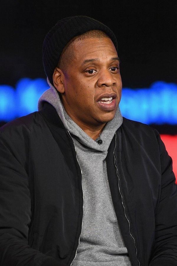 Jay-Z at MTV Studios in Manhattan on March