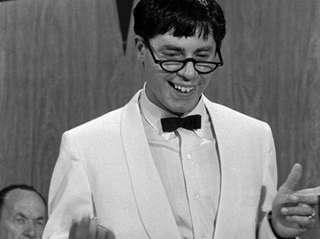 Jerry Lewis appears in a scene from 1963's