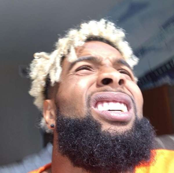 Odell Beckham Jr. Decided To Stare Right At The Solar Eclipse