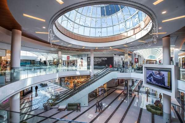 The luxury wing at Roosevelt Field mall in