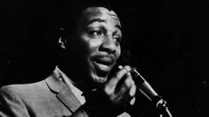 Comedian Dick Gregory in 1962.