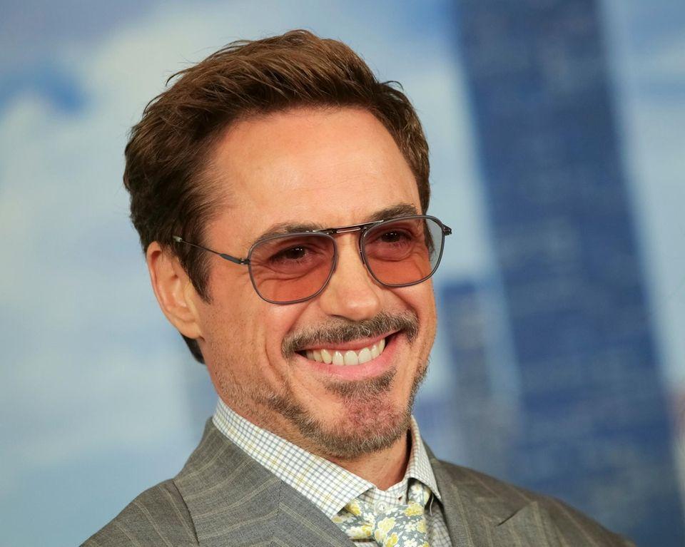 Robert Downey Jr. made the No. 6 spot