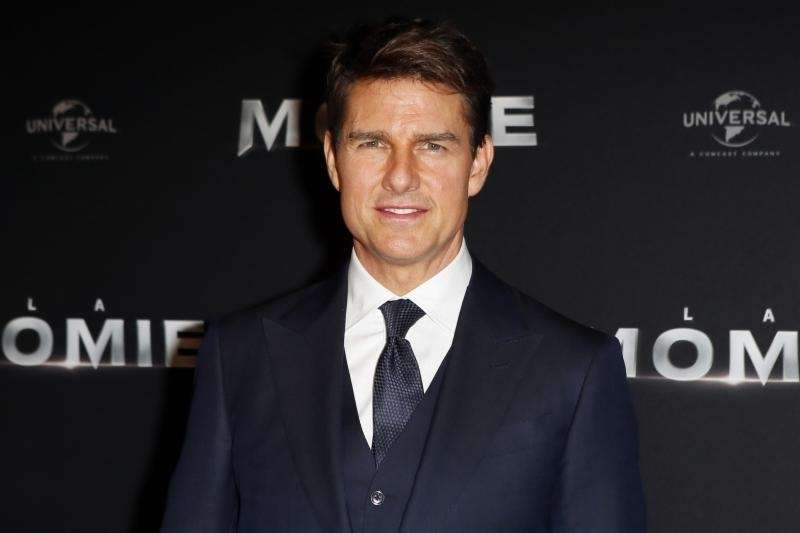 Tom Cruise lands at the No. 7 spot