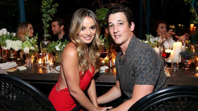 Keleigh Sperry and Miles Teller on Feb. 18,