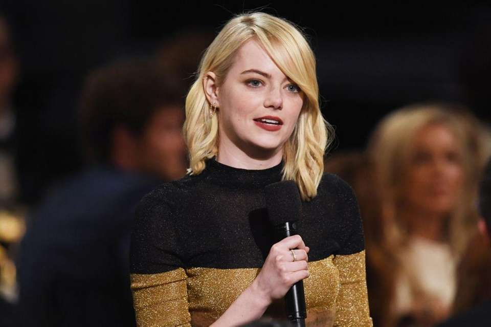 Emma Stone topped Forbes' 2017 list of the